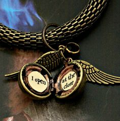 Harry Potter Golden Snitch Woven Bracelet with Swarovski crystal Steampunk