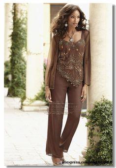 Aliexpress.com : Buy mother of the bride dresses pants suit M 0133 ...