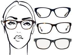 Find the best geek-chic glasses for your face shape: http://trib.al/nl0xWnQ