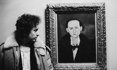 Bob Dylan at the National Gallery of Art in Washington D.C. January 15, 1974