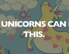 Only unicorns can read this.