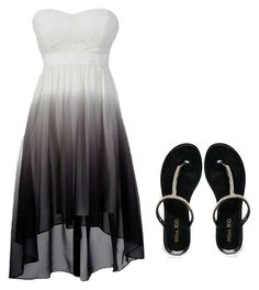 """""""night out"""" by crystal-clear-killer ❤ liked on Polyvore featuring moda y Miss KG"""