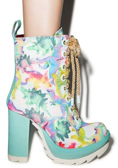 Irregular Choice Karrie Okey Dino Boot | Dolls Kill