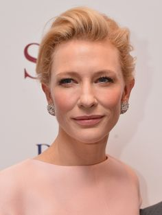 Red-Carpet Beauty Wrap-Up: July 2013  Cate Blanchett rarely gets it wrong on the red carpet, and this particular occasion was no exception. We loved flush of peachy pink accents on the apples of her cheeks and lips, giving a glamorous, yet understated feel to her beauty look.  http://primped.ninemsn.com.au/galleries/celebrity-beauty-galleries/red-carpet-beauty-wrap-up-july-2013?image=2