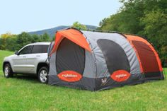 Rightline Gear 110915 SUV Tent with Screen Room & DAC Explorer 2 SUV Tailgate Tent for Camping - Your minivan or SUV ...