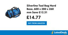 Silverline Tool Bag Hard Base, 600 x 280 x 260 mm Save £12.31, £14.77 at Amazon