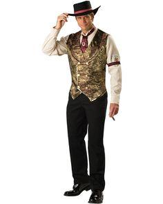 Gambling Man Mens Costume  #Casino