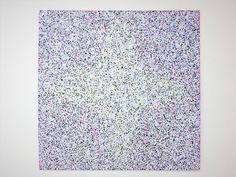 Niiyama Hanmyou 2014 Gallery Den&ST  styrene paper acrylic color  般若心経(Heart Sutra)