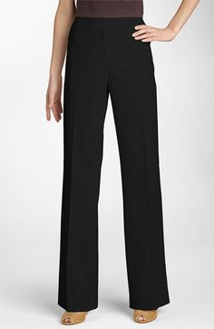 Lafayette 148 New York 'Menswear' Trousers (Regular & Petite) available at #Nordstrom