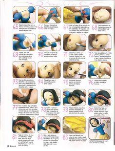 As 3 Artes: Princesas da Disney em Biscuit - 01