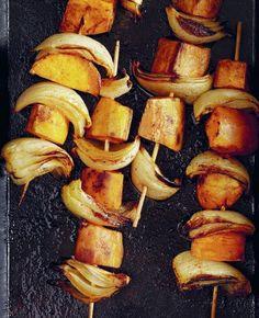 Sweet potato skewers
