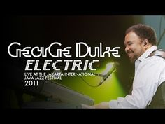 """George Duke Electric """"Sweet Baby"""" Live at Java Jazz Festival 2011"""