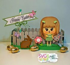 SVG Cutting Files Challenge :: Make a Spring Treat