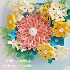 quilling flowers #learning  #tutorial  #quilling #flower # design # paper #paperquilling #quillingflowers #quillingart #papercrafts #paperart #paperflowers #handmade #종이감기#종이감기공예#종이감기꽃#종이공예#종이꽃#핸드메이드#クイリング#ペーパークラフト#手作り
