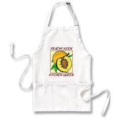 Peachy Keen Kitchen Queen Apron Giveaway: deadline Nov 17th