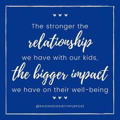 Raising Kids With Purpose - Parenting Resources Sibling Relationships, Strong Relationship, Kids And Parenting, Parenting Hacks, Strong Family, Pretty Tough, Positive Discipline, Tough Day, Kids Behavior