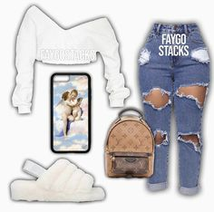 Discover recipes, home ideas, style inspiration and other ideas to try. Swag Outfits For Girls, Cute Swag Outfits, Teenage Girl Outfits, Teen Fashion Outfits, Cute Outfits For School, Dope Outfits, Simple Outfits, Stylish Outfits, Baddie Outfits Casual