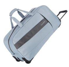 2-Rad Taschentrolley Silbergrau Reisetasche Travelite Kite - Bags & more Gym Bag, Suitcase, Backpacks, Bags, Fashion, Silver Ash, Duffle Bags, Traveling, Taschen