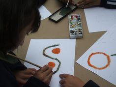 Asemic Writing for dyslexics kids.Cuenca, Ecuador 2013 artesoloparadislexicos.wordpress.com