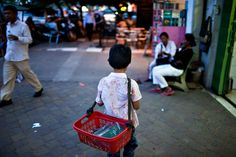 Street children at risk