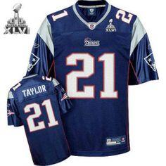 f49fa0391 New England Patriots 21 Fred Taylor Blue 2012 Super Bowl Jersey Super Bowl  Jerseys