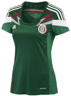 813300eb4cc5d SELECCIÓN DE MÉXICO CAMISETA PARA DAMA Mexico National Team