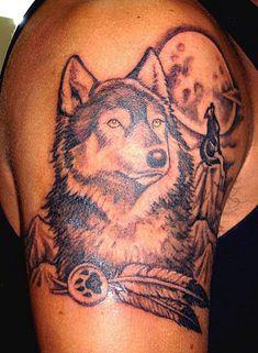 wolves couple tattoo - Recherche Google