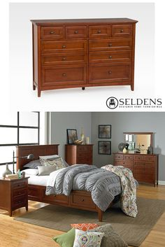 McKenzie Dresser - Whittier Wood
