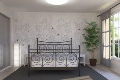 Madame De Pompadour - Silver - Wall Mural & Photo Wallpaper - Photowall