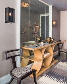 MODERN ENTRYWAY | A modern entryway  by luxesource.com | bocadolobo.com/ #modernentryway #entrywayideas
