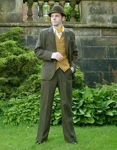 1930's reproduction suit-- my favorite so far!!!
