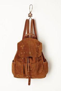 Veldt Suede Backpack