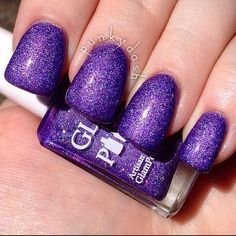 Glam Polish - Violet Be Mine - January What's Indie Box