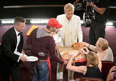 Brad Pitt, Meryl Streep, and Ellen DeGeneres at an event for The Oscars (2014)