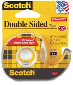 Double-Sided Tape as Hem Securer    Fix a fallen hem when there's no time for a trip to the tailor. Also works well as a temporary fix for gaps between buttons on your blouses or jackets.