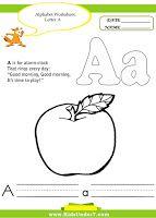 Kids Under 7: Tracing Worksheets