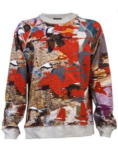 Basso and Brooke Soaring Bird Pullover
