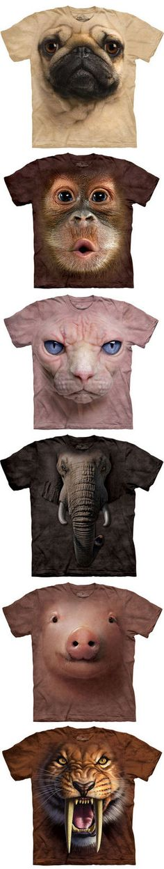 3D Animal T-Shirt - So Cute, Funny, & Hilarious! Love them! {many more designs available}