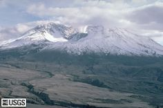 Mt. St. Helens as seen from Johnston Ridge Observatory. Beautiful drive!