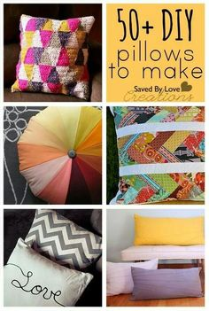 Pillows  http://www.copycatcrafts.com/category/home-crafts/room-accessories/
