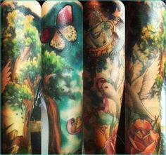 20 Dark Inspirational Retro Tattoos