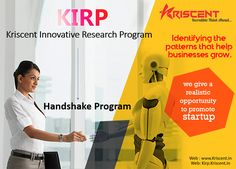 #schoolmanagementsoftware, #ITservices, #webdevelopment, #investors, #technohub, #SEO, #Digitalmarketing, #KIRP, #GST, #Invoice, #Billing, #Hnadshakeprogram A Investment Initiative program with fully digital approach!!! Kriscent Techno Hub Pvt. Ltd launches Handshake program, on basis of this concept we promote new ideas that are also beneficial for your business too. Visit us at: www.kirp.kriscent.in To know more click here : www.kriscent.in Or You may