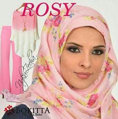 Design ROSY (chiffon)  #bokittahijab #bokittadealer #bokittamalaysia #bokittabyngkuzeeha #bokittamanjung