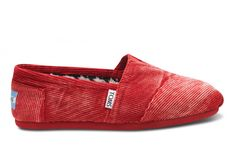 Sherry Stone-Washed Cord Women's Classics TOMS shoes.   I really want a pair of TOMS - not only do they look cute but they help children in need by giving them a pair of shoes for every pair you buy!