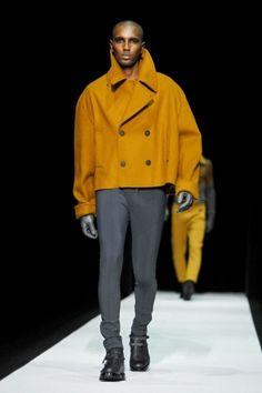 Emporio Armani Fall Winter Menswear 2013 Milan