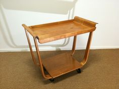 M238: Pastoe tea trolley, design Cees Braakman 1954