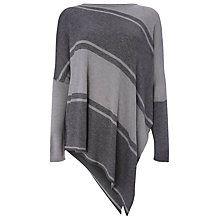 Buy Phase Eight Stripe Melinda Jumper, Grey Online at johnlewis.com