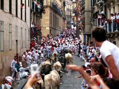 Click, download and run - iFit Map of Pamplona Running with the Bulls