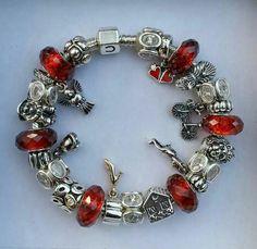 Wizard of oz red pandora bracelet vos pandora vos cr 233 ations your