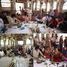 Musical performances by artists during Swaranjali 2016  The Guru Poornima Festival. Shri Shambhu Prasad Ji and Ms. Piu Sarkhel presenting classical vocal; Ms. Debopriya and Ms. Suchismita presenting a flute jugalbandi  #Swaranjali#Swaranjali2016#GuruPurnima#GuruPoornima #Eklingji#ShreeEklingji#ShreeEklingjiTemple #IndianFestivals#Music#Devotion#EternalMewar#Mewar#Heritage#Udaipur#Rajasthan#India